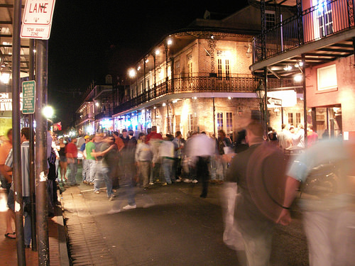 A Night Of Swinging On Bourbon Street
