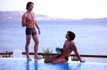 The Pool Is Big Enough For Everyone - Bisexual Males Turn Me On!