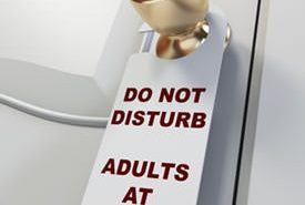 Do Not Disturb - Adults at Play