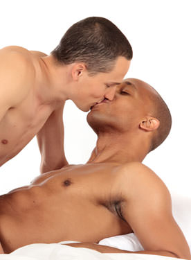 Man Kisses and More - From Bi-Curious to str8