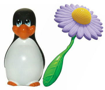 Big Teaze Toys I Rub My Penguin and Flower Power Vibe Review