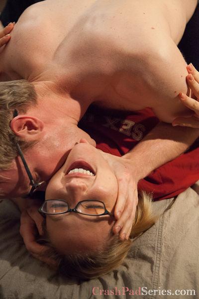 Crash Pad Series Queer Porn Review: #128 - Maggie Mayhem & Ned Mayhem