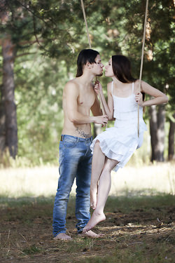 The Poly Girl and the Swinger Boy: A Communication Communion