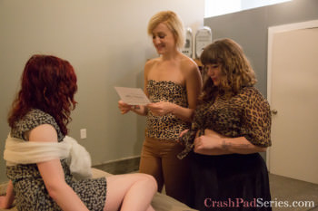 The Crash Pad Series Queer Porn Review: Episode 148 – Courtney Trouble, Dylan Ryan and Chelsea Poe