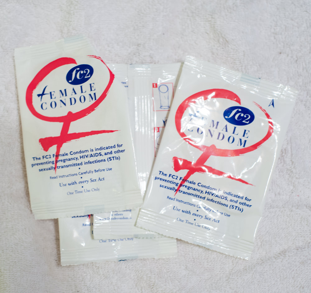 4 Female Condoms