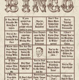 derailment bingo