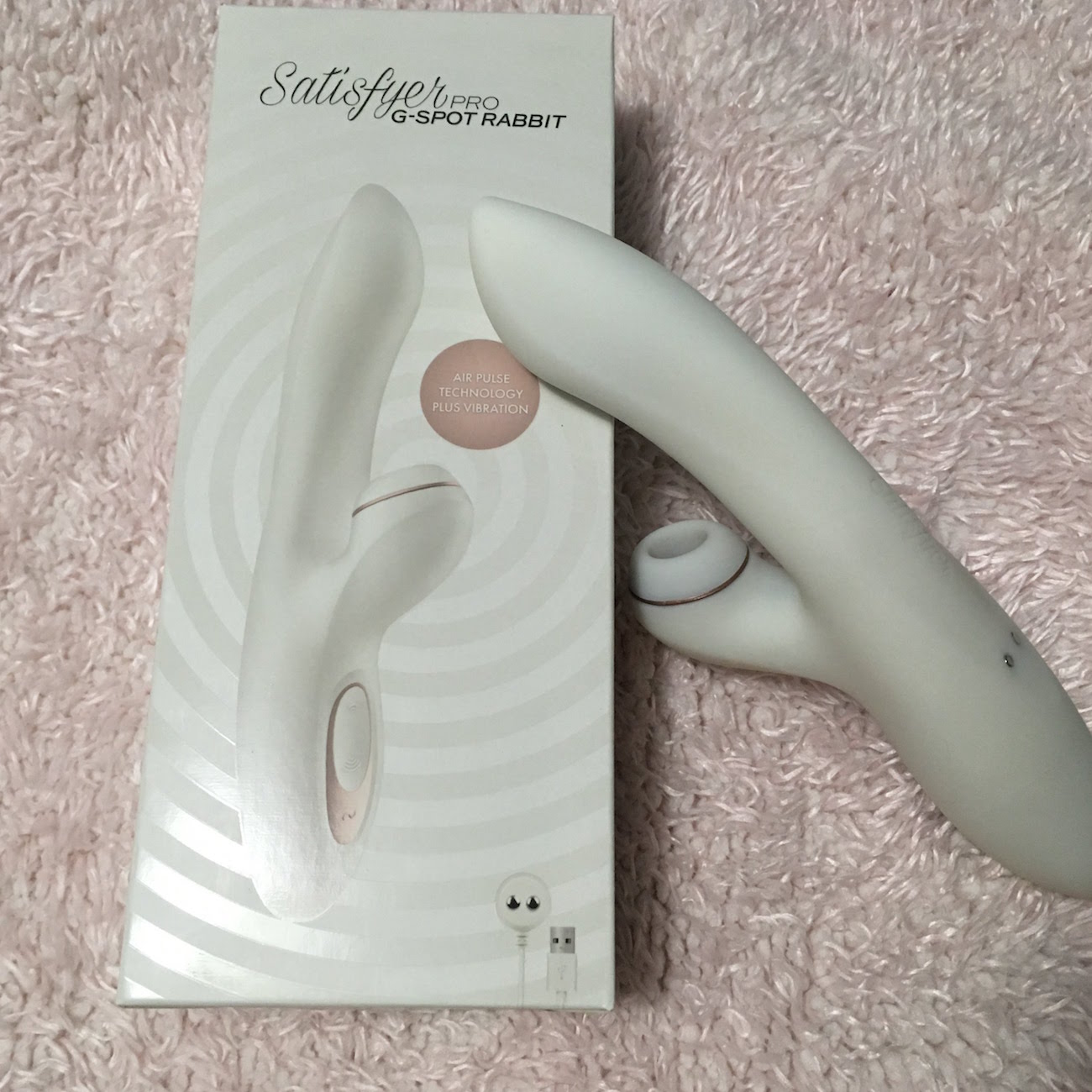 Satisfyer G-Spot Rabbit & packaging