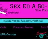 SEAGG 038: The Fuck SESTA/FOSTA Episode – Sex Ed A Go-Go